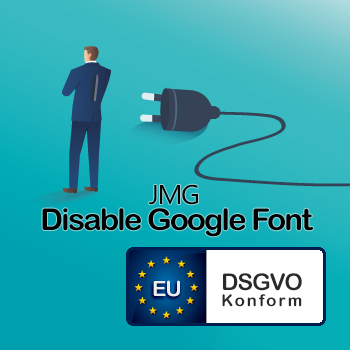 JMG Disable Google Font
