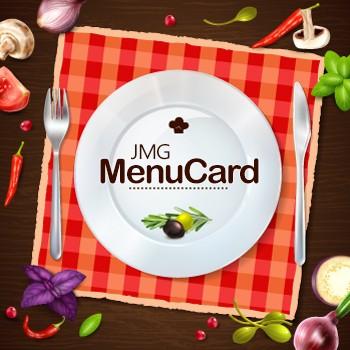 JMG Menu Card