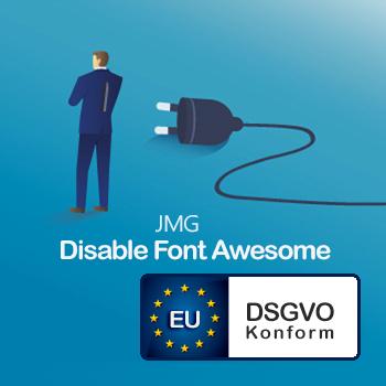 JMG Disable Font Awesome